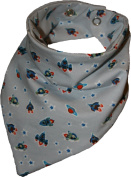 Tooth Rocket and Stars Waterproof Head Scarf