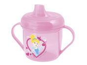 Lulabi Disney Princess and Pet Second Sips Polypropylene Cup, Pink, 200 cc