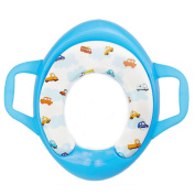 Arrowhunt Baby Kids Children Soft Potty Seat Blue