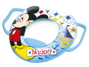 Lulabi Disney Mickey Soft Toilet Seat with Handles, Light Blue colour