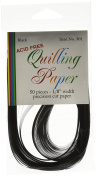 Lake City Craft 0.3cm Quilling Paper, Black
