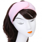 Westeng Make Up Headband Wash Face Cosmetic Artists Fixing Headband Soft Towelling Spa Hair Band