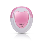 SUNLUXY Baby Foetal Doppler with free headphones Heart Rate Movements Monitor Detector for Baby Adults pink