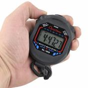 Sannysis Professional Digital LCD Chronograph Handheld Sports Stopwatch Timer