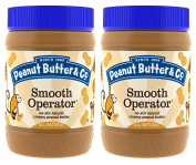 Peanut Butter & Co. Peanut Butter, Smooth Operator, 470ml Jars