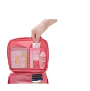 Liroyal Travelling Washing Bag Cosmetic Bag Travelling Storage Bag,peach pink
