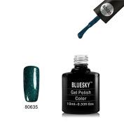 Bluesky Starstruck Collection - 80635 Emerald Lights UV LED Gel Soak off Nail Polish 10ml