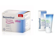 BAYER Bepanthol Ultra Face Cream 50ml + free Bepanthol Hand Cream 50ml