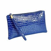 Fulltime(TM) Womens Long Purse Luxury Large Capacity Wallet With Zipper Pocket Card Holder Case Clutch Phone Handbag Coin Purse