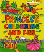 12 x Mini Princess Colouring Activity Books Girls A6 Party Bag Fillers