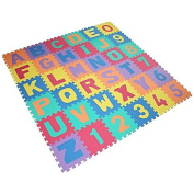 New 36pcs Foam Letters Numbers Play Puzzle Eva Mat Kids Soft Alphabet Jigsaw Shopmonk