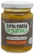 Little Pasta Organics Free From Pumpkin and Carrot Sauce, 130 g