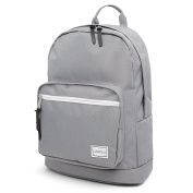 Hard Wearing Grey Backpack Rucksack Plenty of Storage Perfect Bag for School College Uni with Laptop Compartment