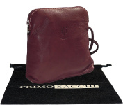 Genuine Italian Soft Leather, Small / Micro Cross Body or Shoulder Bag Handbag. Includes Branded Protective Storage Bag.