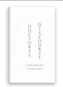 Doctoral Discourse