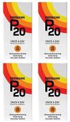 (4 PACK) - Riemann - P20 Suncream SPF20 | 200ml | 4 PACK BUNDLE