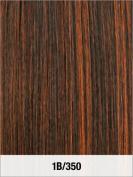 LORD & CLIFF EVITA SIX PIECE STRAIGHT HUMAN HAIR CLIP IN EXTENSION 36cm 1B/350