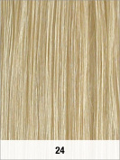 LORD & CLIFF SEVEN PIECE STRAIGHT REMY HAIR CLIP IN EXTENSION 41cm #24