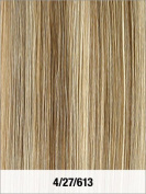 LORD & CLIFF SEVEN PIECE STRAIGHT REMY HAIR CLIP IN EXTENSION 36cm #4/27/613