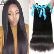 Newness Peruvian Virgin Hair Straight 3 Bundles 6A Hair Products Soft Peruvian Straight Virgin Hair 100% Unprocessed Human Hair