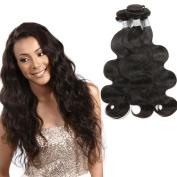 7A Unprocessed Brazilian Body Wave 3 Bundles Natural Colour Brazilian Virgin Hair Body Wave 100% Human Hair