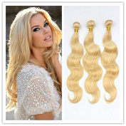 Seashinebeauty Unprocessed Virgin Hair 613 Body Wave Hair Weft 3pcs 60cm Brazilian Human Hair Bundels Hair Weave