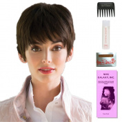 Connie by Amore, Wig Galaxy Hair Loss Booklet, 60ml Travel Size Wig Shampoo, Wig Cap, & Wide Tooth Comb (Bundle - 5 Items), Colour Chosen