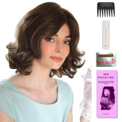 Alana XO by Amore, Wig Galaxy Hair Loss Booklet, 60ml Travel Size Wig Shampoo, Wig Cap, & Wide Tooth Comb (Bundle - 5 Items), Colour Chosen
