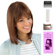 Tatum by Amore, Wig Galaxy Hair Loss Booklet, 60ml Travel Size Wig Shampoo, Wig Cap, & Wide Tooth Comb (Bundle - 5 Items), Colour Chosen