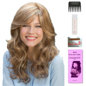 Brittany by Amore, Wig Galaxy Hair Loss Booklet, 60ml Travel Size Wig Shampoo, Wig Cap, & Wide Tooth Comb (Bundle - 5 Items), Colour Chosen