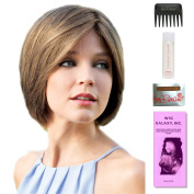 Regan by Amore, Wig Galaxy Hair Loss Booklet, 60ml Travel Size Wig Shampoo, Wig Cap, & Wide Tooth Comb (Bundle - 5 Items), Colour Chosen