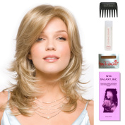 Kelly by Amore, Wig Galaxy Hair Loss Booklet, 60ml Travel Size Wig Shampoo, Wig Cap, & Wide Tooth Comb (Bundle - 5 Items), Colour Chosen