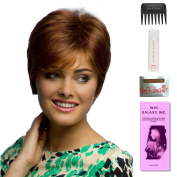 Wendy by Amore, Wig Galaxy Hair Loss Booklet, 60ml Travel Size Wig Shampoo, Wig Cap, & Wide Tooth Comb (Bundle - 5 Items), Colour Chosen