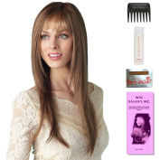 Stevie by Amore, Wig Galaxy Hair Loss Booklet, 60ml Travel Size Wig Shampoo, Wig Cap, & Wide Tooth Comb (Bundle - 5 Items), Colour Chosen