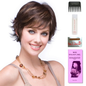 Tova by Amore, Wig Galaxy Hair Loss Booklet, 60ml Travel Size Wig Shampoo, Wig Cap, & Wide Tooth Comb (Bundle - 5 Items), Colour Chosen