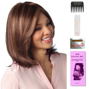 Samantha by Amore, Wig Galaxy Hair Loss Booklet, 60ml Travel Size Wig Shampoo, Wig Cap, & Wide Tooth Comb (Bundle - 5 Items), Colour Chosen