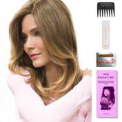Brandi by Amore, Wig Galaxy Hair Loss Booklet, 60ml Travel Size Wig Shampoo, Wig Cap, & Wide Tooth Comb (Bundle - 5 Items), Colour Chosen