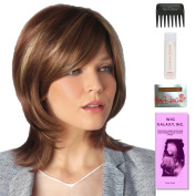 Summer by Amore, Wig Galaxy Hair Loss Booklet, 60ml Travel Size Wig Shampoo, Wig Cap, & Wide Tooth Comb (Bundle - 5 Items), Colour Chosen