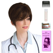Tiana XO by Amore, Wig Galaxy Hair Loss Booklet, 60ml Travel Size Wig Shampoo, Wig Cap, & Wide Tooth Comb (Bundle - 5 Items), Colour Chosen