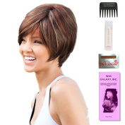 Emily by Amore, Wig Galaxy Hair Loss Booklet, 60ml Travel Size Wig Shampoo, Wig Cap, & Wide Tooth Comb (Bundle - 5 Items), Colour Chosen