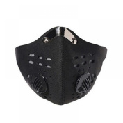 MAXGOODS Anti Dust Motorcycle Bicycle Cycling Ski Half Face Mask Filter