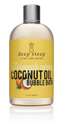 Deep Steep Bubble Bath, Coconut Oil, 500mls