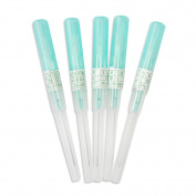 Piercing Needles,New Star Tattoo 5PCS 18G Gauge Needle Steel Catheter Body Piercing Needles Supply