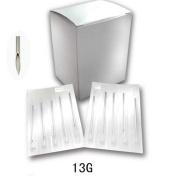 New Star 100PCS 13G Sterile Steel Body Piercing Needles Supply