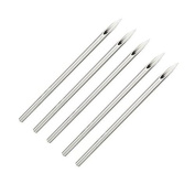 Gospire 100 Mix Body Piercing Needles Sterilised Disposable Packaging with Steriliser Bag Sizes 12g 14g, 16g, 18g and 20g