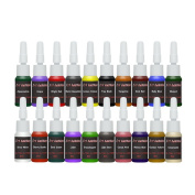 TATTOO INK 20-PACK Primary Colour Set