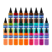 Intenze Tattoo Ink Set - 7 Best Selling Primary Colours 30ml