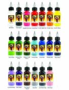 Scream Tattoo Ink 20-pack Set 30ml Bottles -Tattoo Supplies-