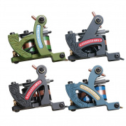Dragonhawk 4 Standard Tunings Tattoo Machines Fine Lining Shading Machine Lining Machine Colouring Machine