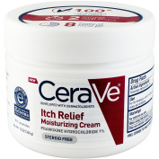 CeraVe Itch Relief Moisturising Cream Tub, 350ml